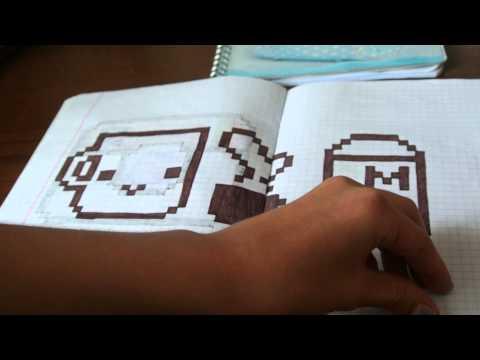 Рисунки по Клеточкам #61 СМАЙЛИК В ОЧКАХ