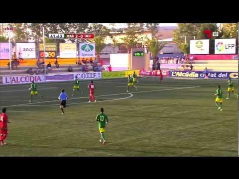 mauritanie 4 vs indonésie 0  COTIF 2014