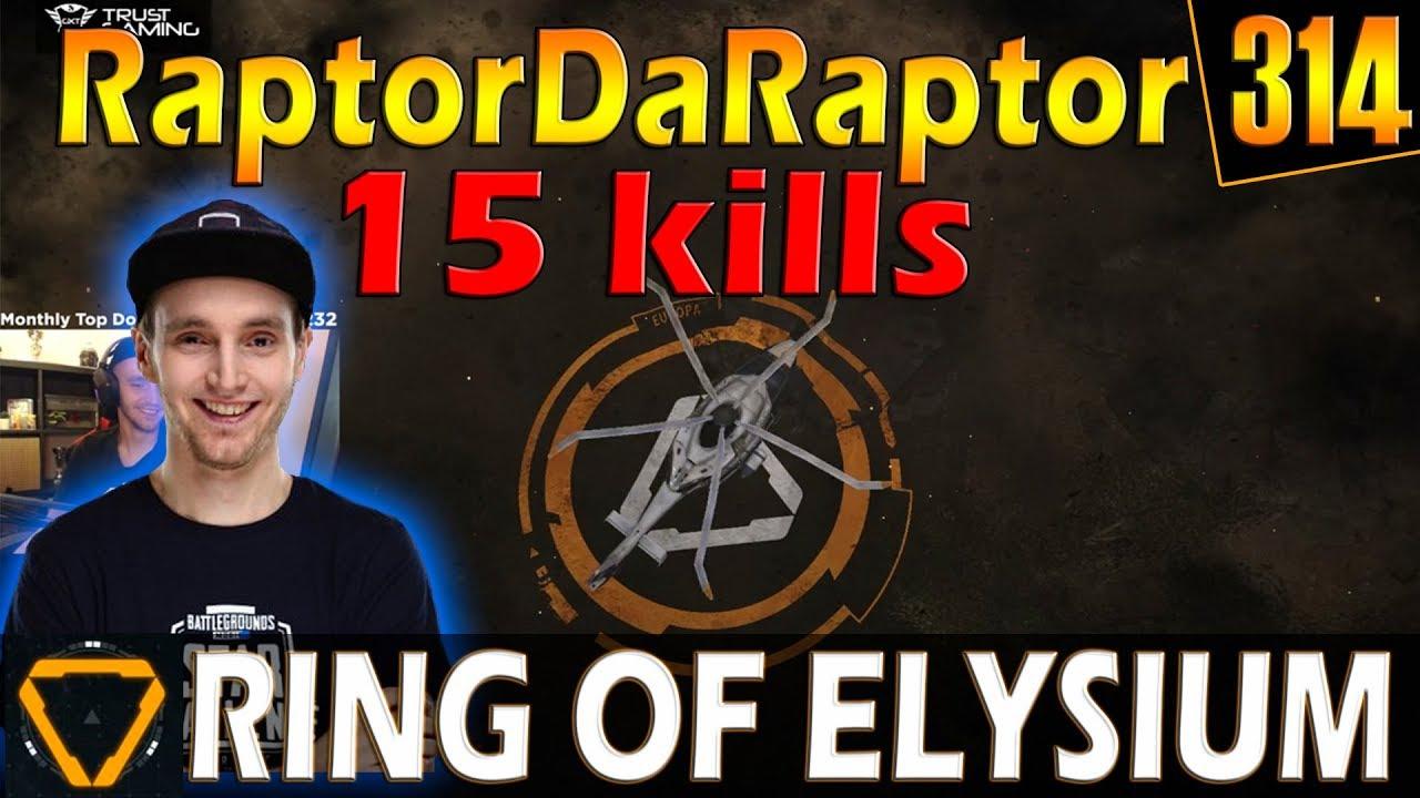 RaptorDaRaptor | 15 kills | ROE (Ring of Elysium) | G314