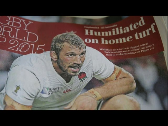 England left reeling after Rugby World Cup knockout