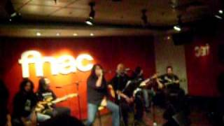 "Dark Moor/Arwen/Cripta ""The bane of Daninsky,The Werewolf"" Acoustic [Fnac Callao,Madrid 15-01-2010]"