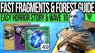 Destiny 2 | FESTIVAL GUIDE & FAST HORROR STORY! Easy Fragmented Souls, Haunted Forest Guide & More