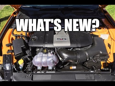 what s new about the 2018 gen 3 coyote engine youtube