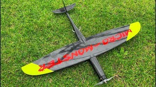 "400 KMH EXTREM RC SPEED WITH BRAND NEW MICRO MODEL ""HJK MICRO MONSTER"" FLIGHT DEMONSTRATION"