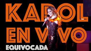Karol Sevilla I En Vivo HP On Live I Equivocada