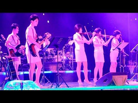 North Korea Girl Pop Group Goes to China