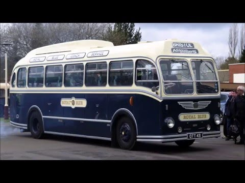 (28/3/2016) Double declutching - Western National 2200 Bristol LS6G OTT43 - Wythall Easter Monday