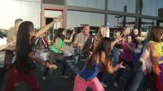 Irvine California Mini Dealership Opening Flash Mob - updated HD version