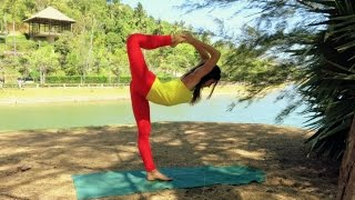 Natarajasana for advanced - the Lord of the dance pose