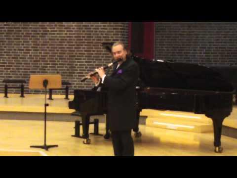 Patrick Gallois, Telemann: Fantasie A-dur für Flöte Solo