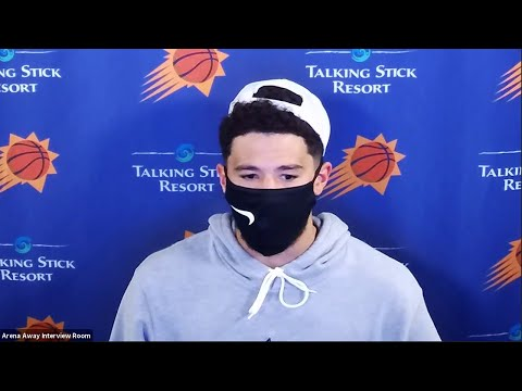 Devin Booker Postgame Interview   Suns vs Clippers   August 4, 2020