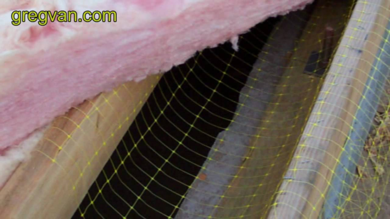 Sub Floor Insulation Netting for Making the Job Easier   YouTube Sub Floor Insulation Netting for Making the Job Easier