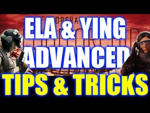 Ela and Ying- Advanced Tips and Tricks: Rainbow Six Siege Blood Orchid