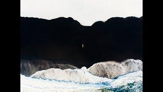Iceman on the Black Sand Beach of Iceland