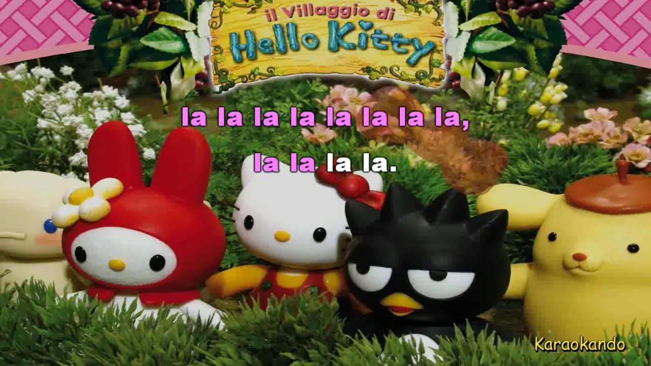 Karaoke hello kitty sigla italiana con testo youtube