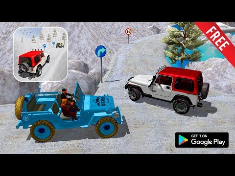 Offroad Jeep Driving Pro Master Uphill Jeep Drive Android Gameplay ( By Nitro Games Production )