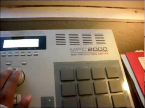 MPC 2000 Classic Beat Making Yo