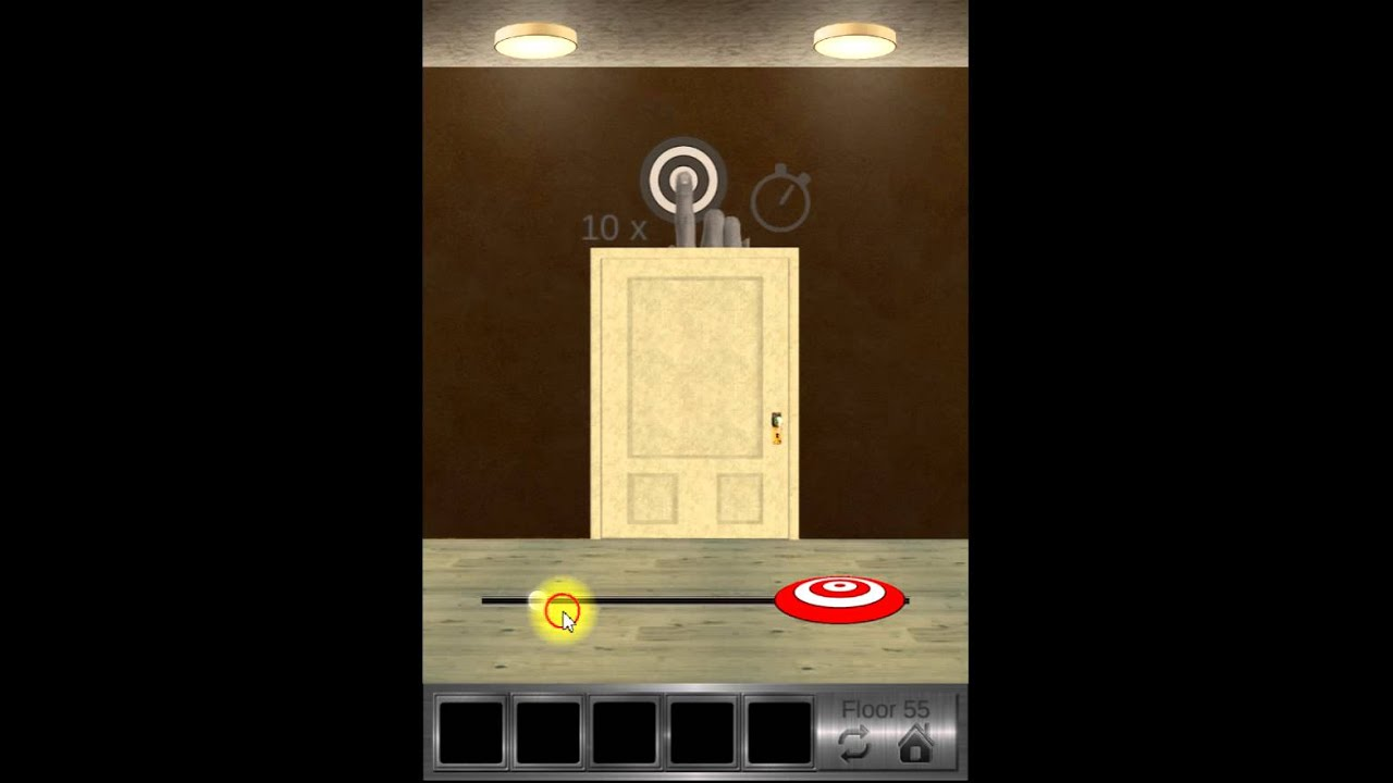 100 Floors 2 Escape Level 55 Youtube
