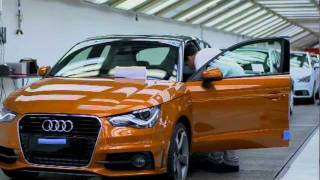 Audi Brussels plant    Production of the Audi A1 Sportback
