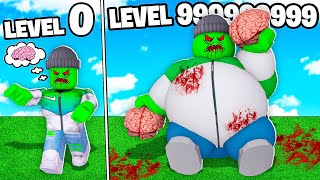 I BECAME A LEVEL 999,999,999 ROBLOX ZOMBIE