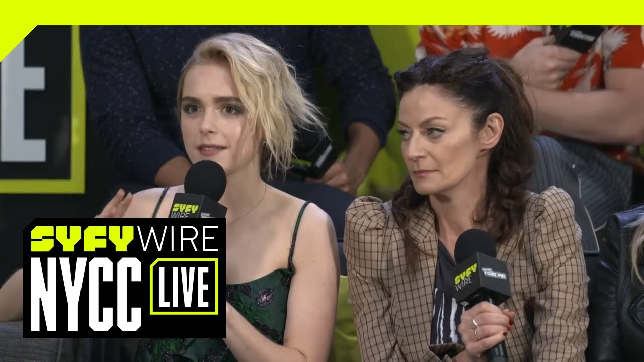 Will We Have A Sabrina / Riverdale Crossover? | NYCC 2018 | SYFY WIRE