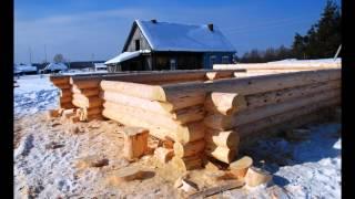 Срубы деревянных домов и бань из Мордовии зимой(, 2012-06-19T07:13:50.000Z)