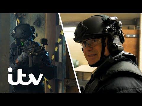 Ross Kemp's Counter Terrorist Police Training | In The Line Of Fire With Ross Kemp | ITV