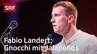 Fabio Landert: Aussprache-Training  | Comedy Talent Show mit Lisa Christ | SRF Comedy
