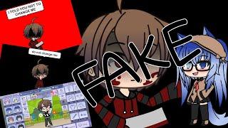 How to make a fake Gacha glitch! (Kinda made a joke out of it)