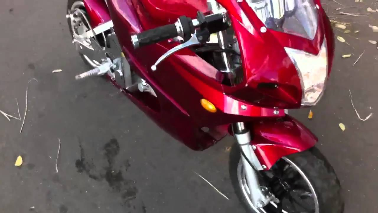 x6 super pocket bike mini streetbike youtube. Black Bedroom Furniture Sets. Home Design Ideas