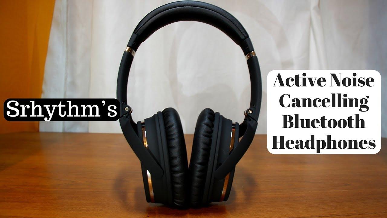 Srhythm's Active Noise Cancelling Bluetooth Headphones