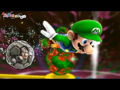 Super Mario Galaxy 2   Melty Monster Galaxy   Episode 35   ZigZag Kids HD