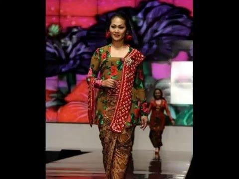 20 Model Kebaya Kartini Modern Terbaru 2016 Populer Youtube