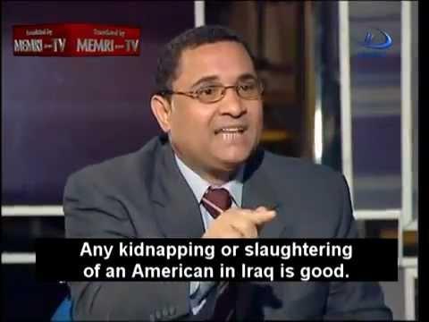 Sabahi in 2005  I Support Al-Qaeda When It Kills Americans (DON'T ELECT HIM) حمدين صباحي