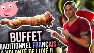 BUFFET TRADITIONNEL FRANÇAIS à VOLONTÉ de LUXE !! (#5 Winter Food Tour Bordeaux)