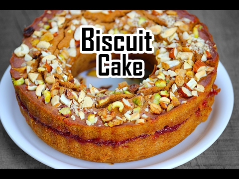 Biscuit Cake Recipe Without Oven In Hindi