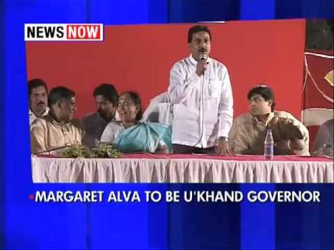 Margaret Alva to be Uttarakhand governor