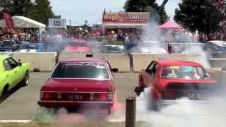 Summernats 28 - World Record Burnout | 103 cars 61,000 horsepower