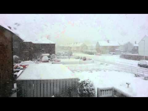 Snow in Annan