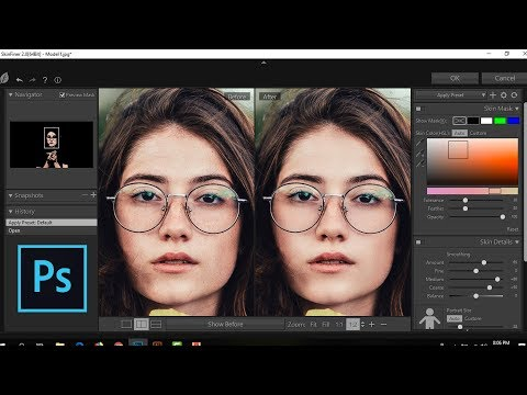 Skin Finer WIth Color Gradings : Photoshop Tutorial thumbnail