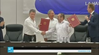 اتفاق تاريخي ينهي صراعا في كولومبيا عمره أكثر من نصف قرن