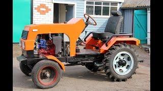 Как сделать самодельный трактор. Часть 2.