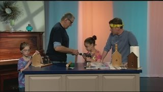 Woodworking Fun At Summer Camp!