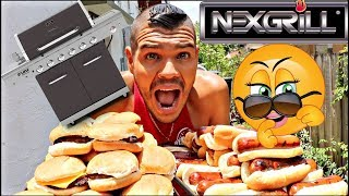 ULTIMATE SUMMER BBQ! NEXGRILL DELUX REVIEW!