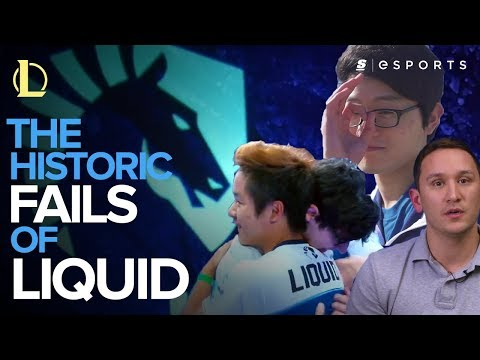 The Historic Fails of Team Liquid (LoL)