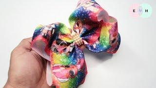 "Jumbo Boutique 3"" 🎀 LOL Surprise Printed Ribbon Jojo Siwa 🎀 DIY by Elysia Handmade"