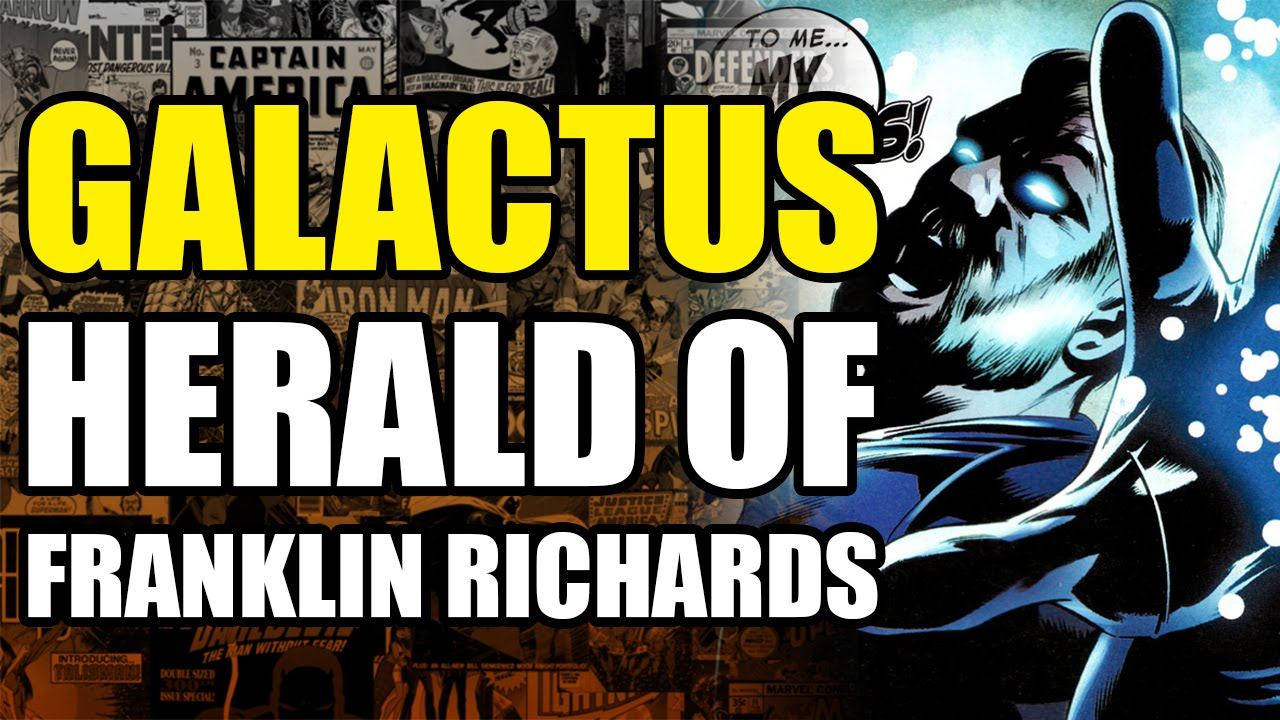 The Herold galactus the herald of franklin richards