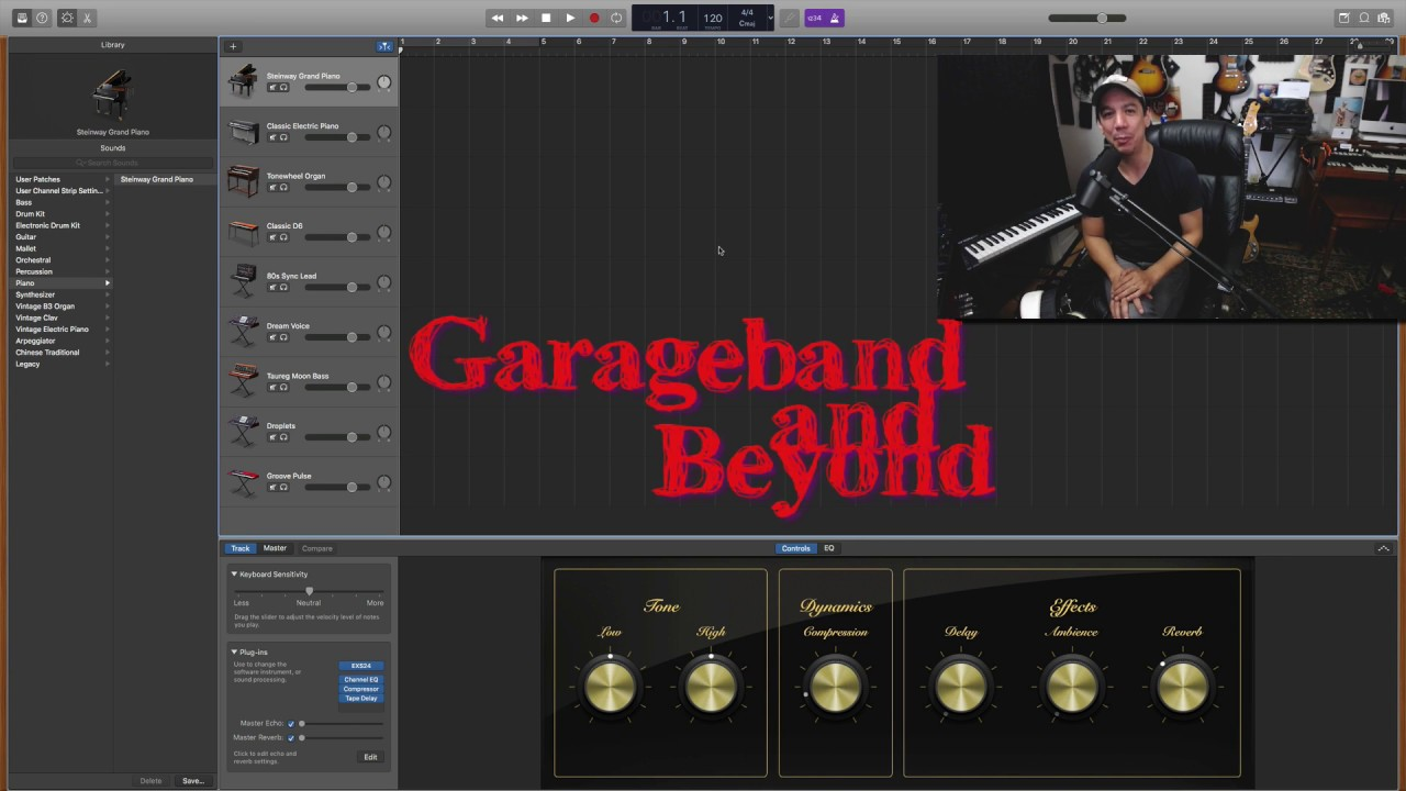 Garageband Tutorial: How to get the most out of the MIDI SOUNDS