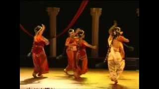 Tagore Dance Drama - Shapmochan : Glimpses - Part 1 by Debamitra Sengupta, Odissi Exponent, India