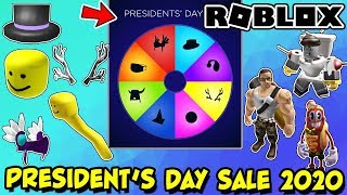 ROBLOX PRESIDENT'S DAY SALE 20…